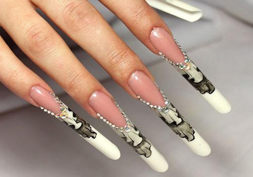 Стильные формы ногтей в маникюре.