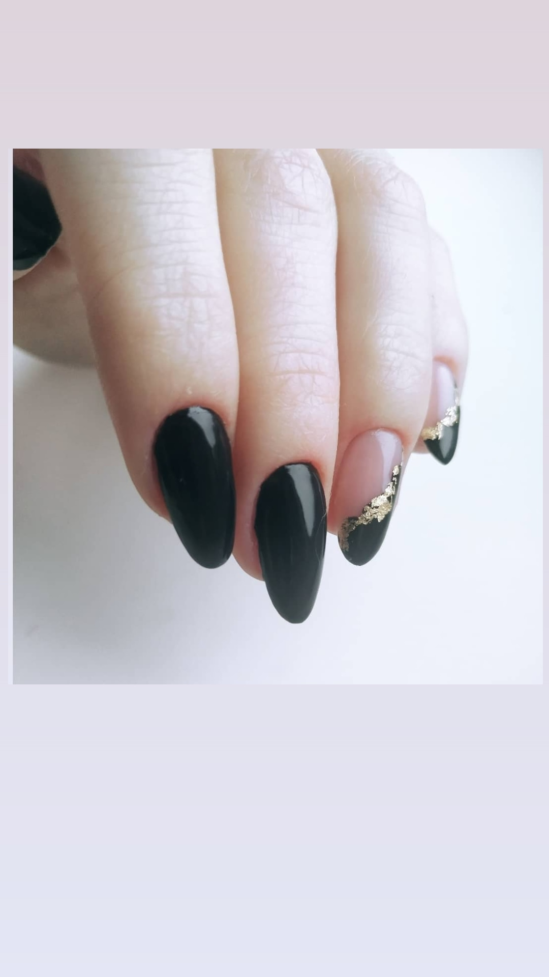 Маникюр с укреплением ногтей гелем, покрытием гель-лак + дизайн